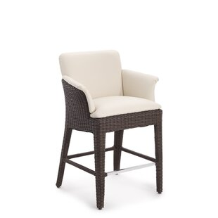 Domus Ventures Bliss Aluminum Patio Bar Stool