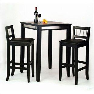 Henry 3 Piece Pub Table Set