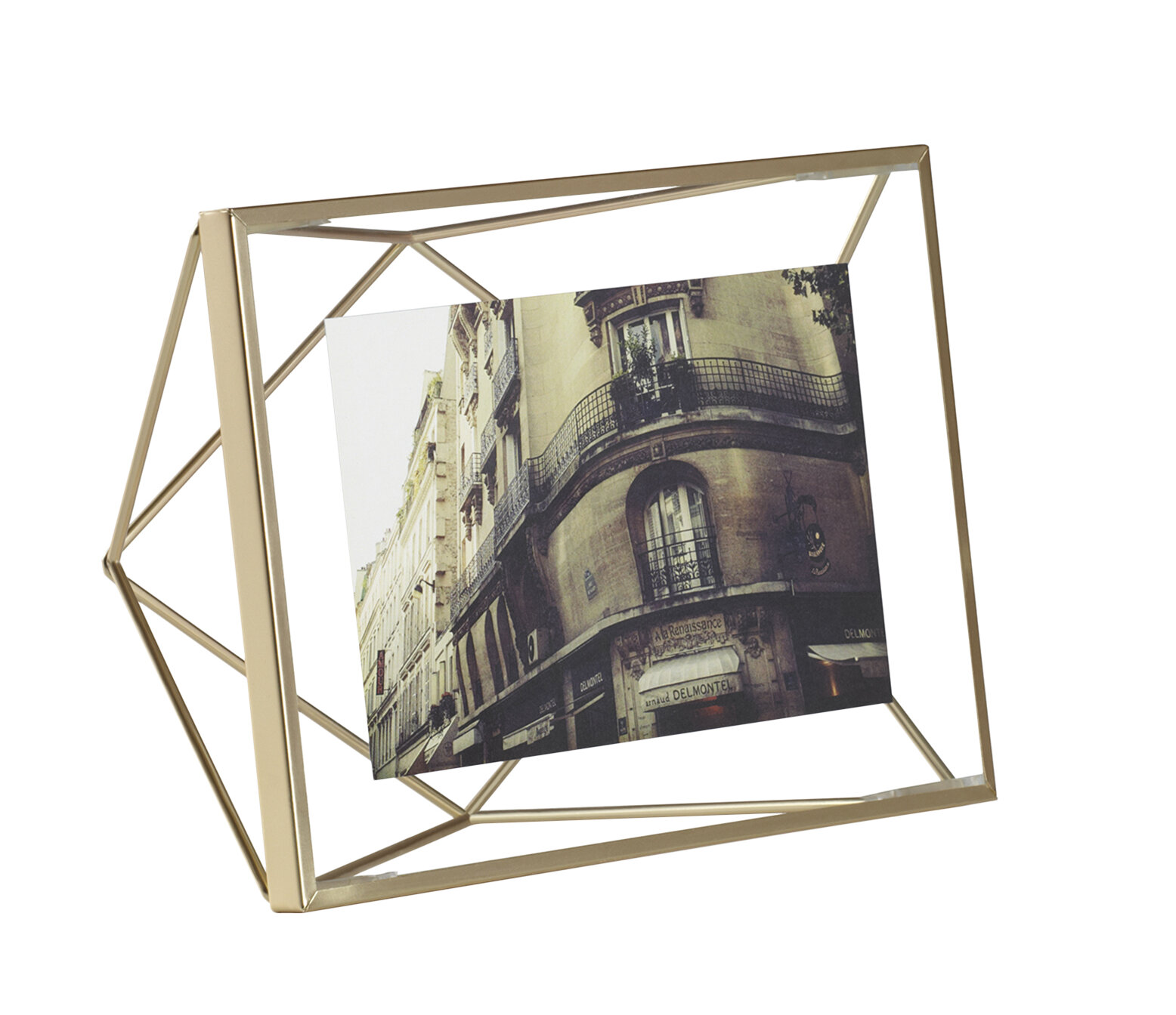 Umbra Prisma Brass Picture Frame & Reviews | Wayfair