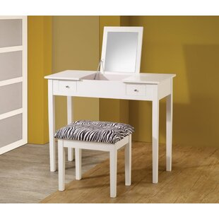 Kisner Vanity Set with Mirror