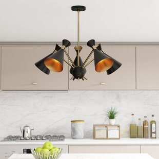 Langley Street Yorba 5-Light Sputnik Chandelier