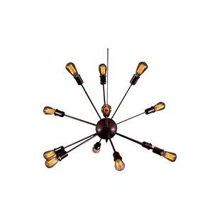 Candice olson chandelier wayfair candice 12 light sputnik chandelier aloadofball Gallery