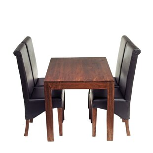 Dining Set With 4 Chairs By Brayden Studio