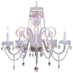 Rosdorf Park Brookton 5-Light Candle Style Chandelier