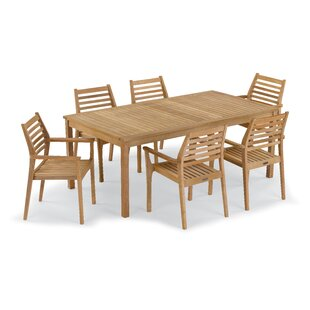 Rosecliff Heights Crossland 7 Piece Dining Set