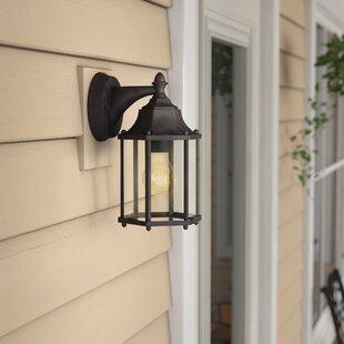 Bayou Traditional 1-Light Outdoor Wall Lantern