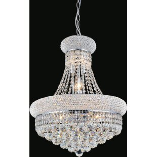 Andres 8-Light Crystal Chandelier by Rosd..