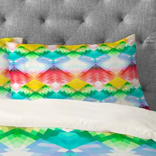 Deniz Ercelebi Crystal Rainbow Pillowcase
