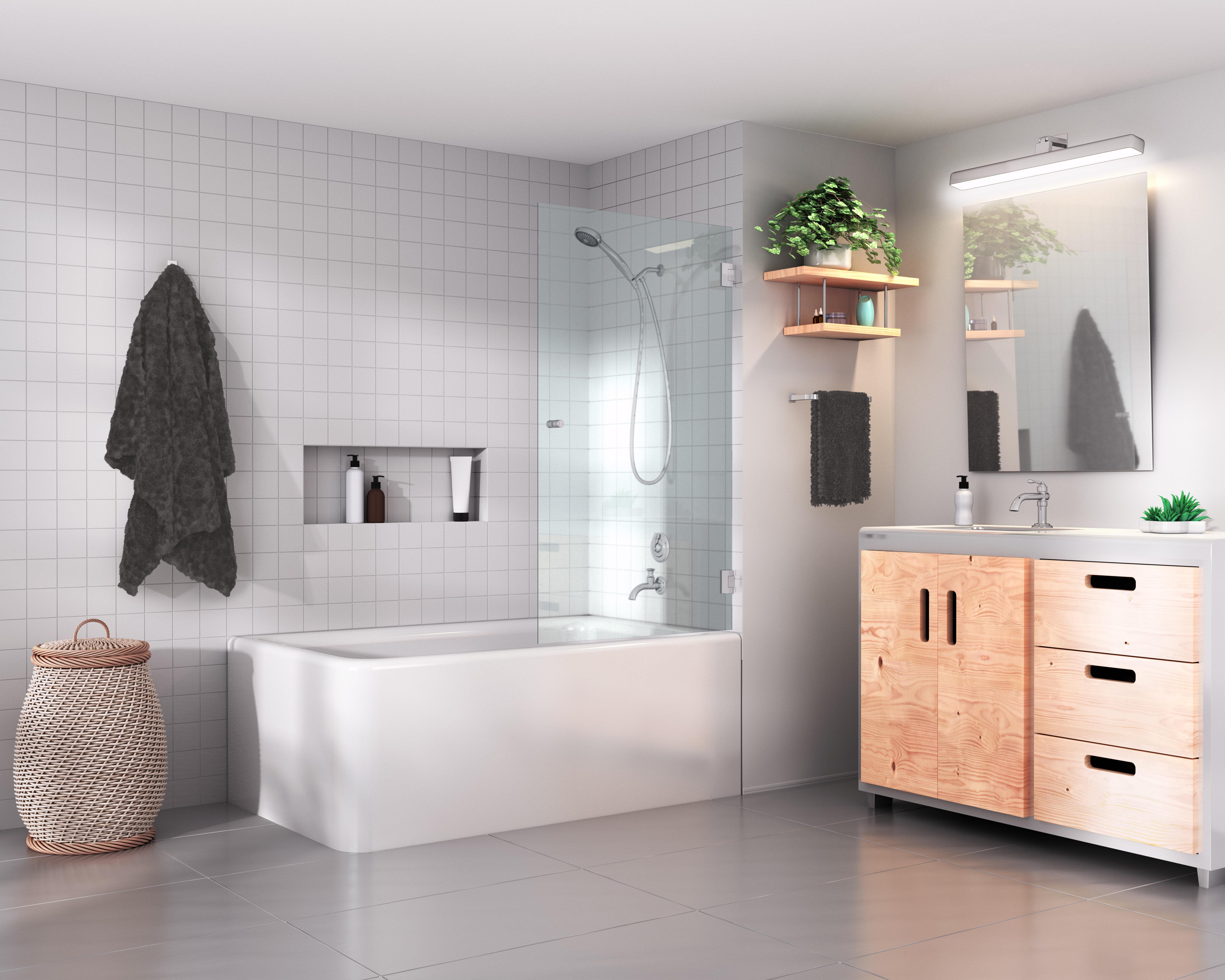 14 Simply Stunning Bathroom Shower Ideas With Photos