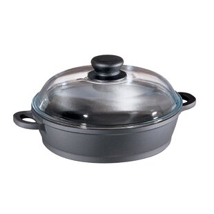 Oval Non-Stick Casserole with High Dome Lid