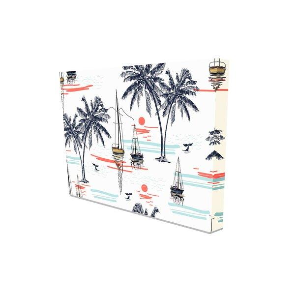 Palm Tree Canvas Wayfair Co Uk