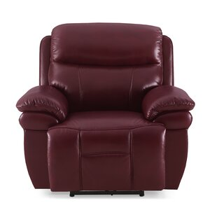 Jeanette Leather Electric Recliner By Ebern Designs