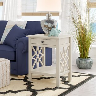 Vicente End Table by Highland Dunes
