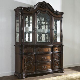 Royale Lighted China Cabinet