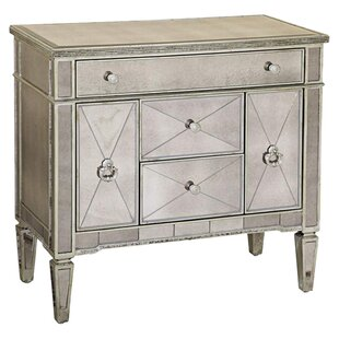 Roehl Mirrored 5 Drawer Chairside Cabinet by Willa Arlo Interiors
