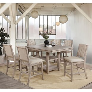 Seraphina 7 Piece Counter Height Dining Set by Ophelia & Co.