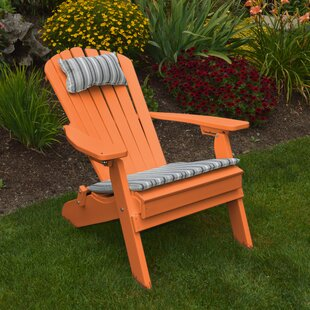 Sperry Plastic Folding Adirondack Chair