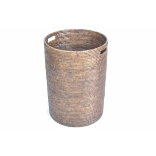 August Grove Round Laundry Hamper