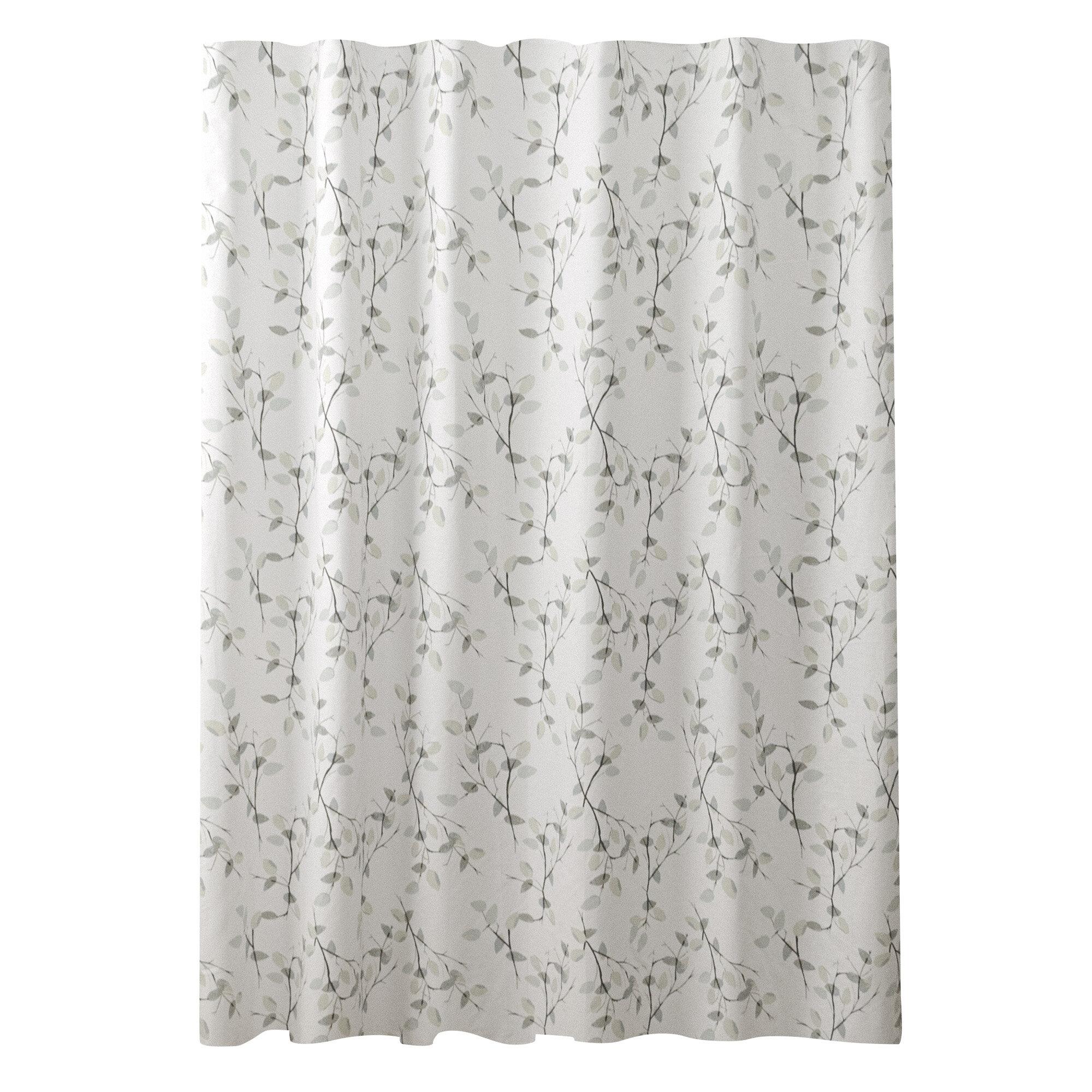 Gracie Oaks Aynor 100 Cotton Floral Single Shower Curtain Wayfair