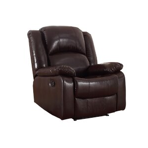 Parsonsfield Manual Glider Recliner  sc 1 st  Wayfair : leather armchair recliner - islam-shia.org