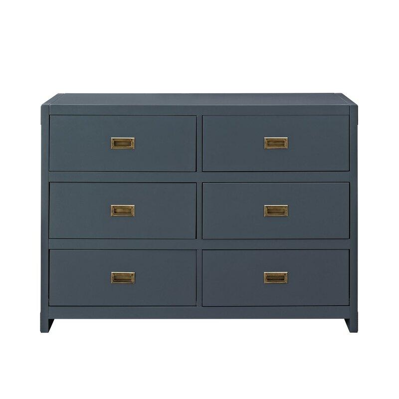 Bria 6-Drawer Double Dresser