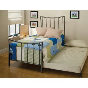 Novice Twin Panel Bed with Trundle