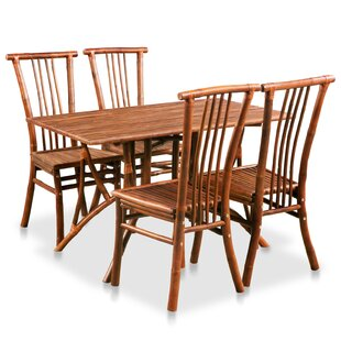 Arborglen Rectangle Dining Set With 4 Chairs By Bay Isle Home