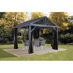 Sojag South Beach I 12 Ft. W x 12 Ft. D Aluminum Patio Gazebo