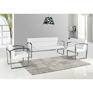 Stukes 3 Piece Standard Living Room Set by Orren Ellis