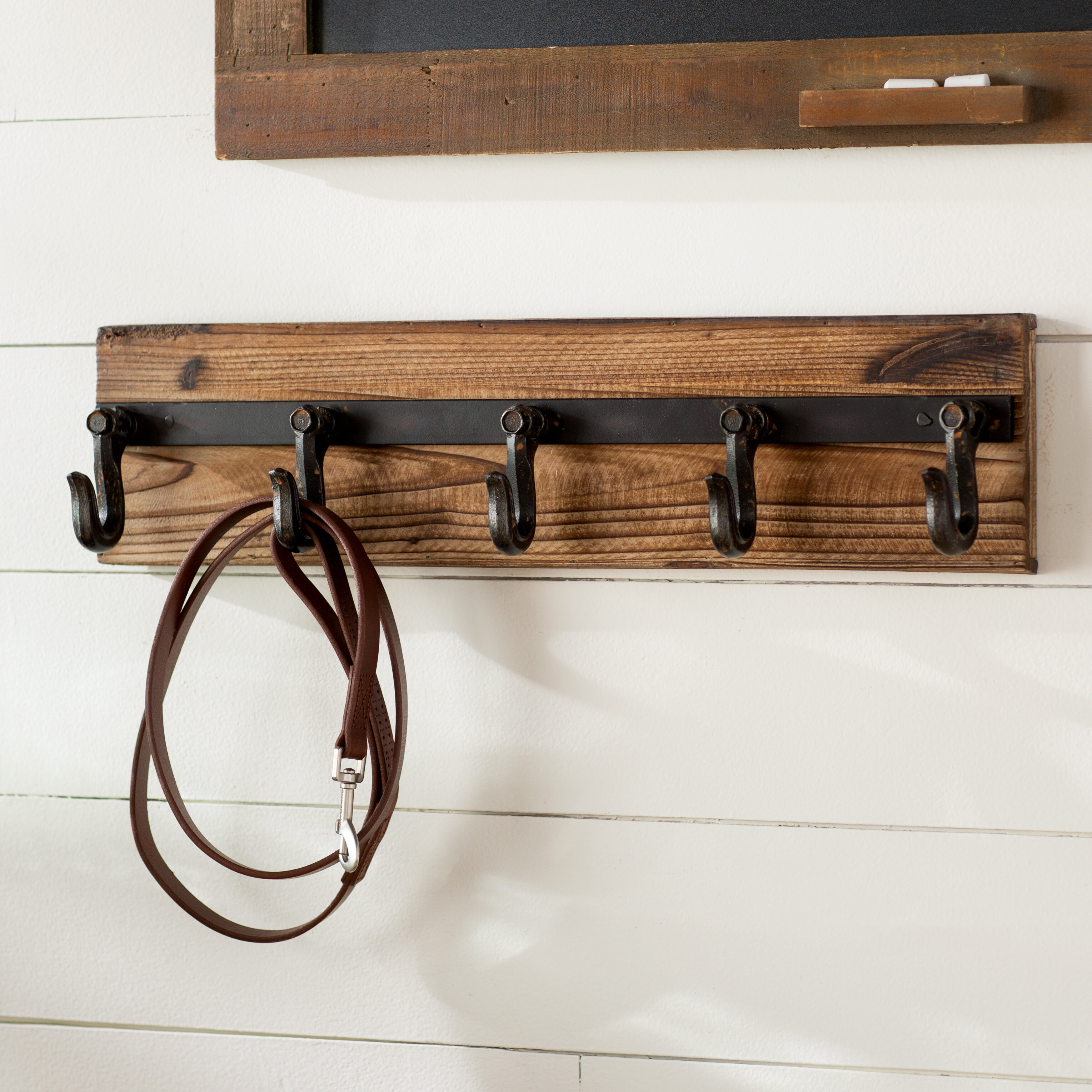 Laurel Foundry Modern Farmhouse Wall Mounted Coat Rack Reviews Wayfair