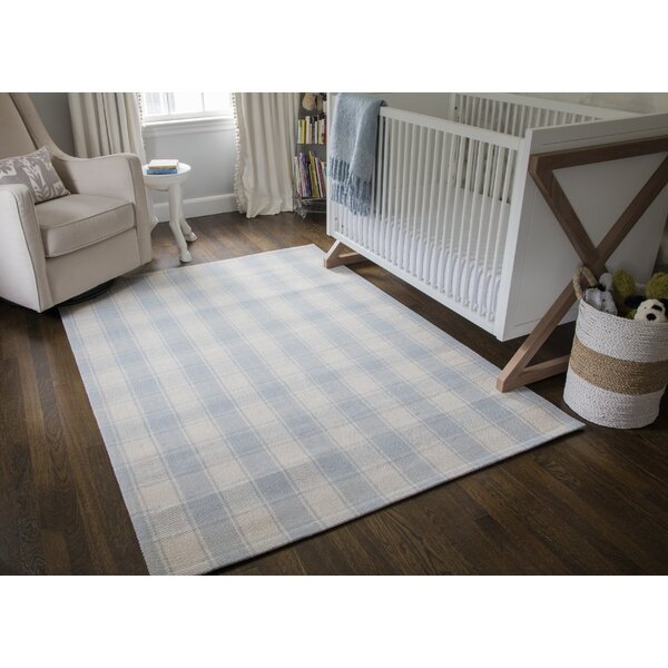 Erin Gates By Momeni Marlborough Charles Handmade Flatweave Wool Light Blue Rug Reviews Wayfair