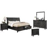 Schulte Sleigh 5 Piece Bedroom Set by Fleur De Lis Living