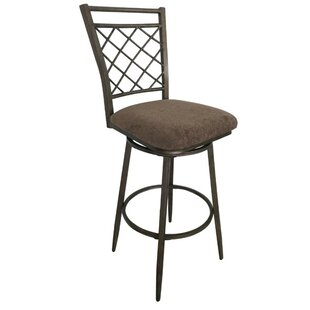 Cruse Swivel Bar Stool (Set of 2) Fleur De Lis Living