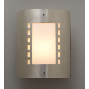 Low priced Ulen 1-Light Outdoor Flush Mount By Ebern Designs
