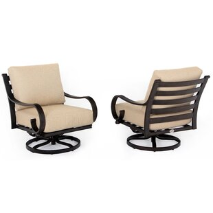 Columbia Swivel Rocking Chair with Cushions (Set of 2)