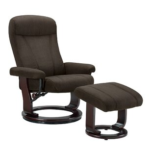 Hamilton Manual Recliner with Ottoman
