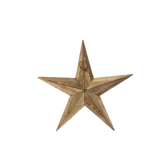 Wooden Star Wall Décor