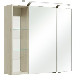 Mare 80 X 76cm Mirrored Wall Mounted Cabinet By Quickset