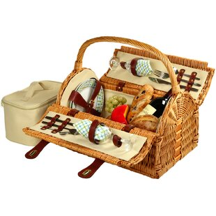 Sussex Picnic Basket For Two by Picnic at Ascot New