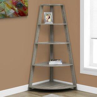 Belcher Corner Unit Bookcase Monarch Specialties Inc.