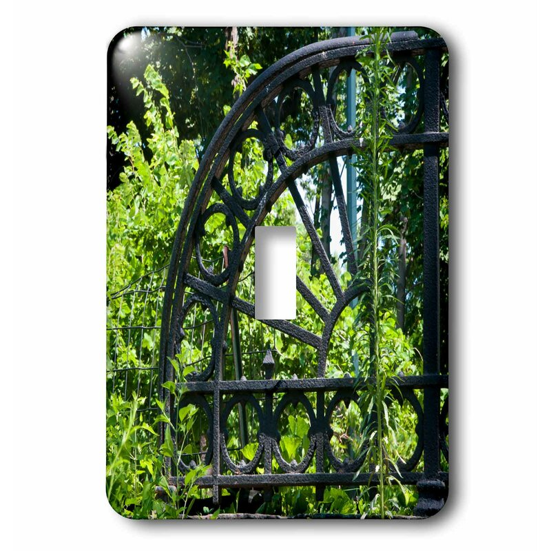 3drose Decorative Archway In Garden 1 Gang Toggle Light Switch Wall Plate Wayfair
