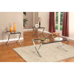 Wade Logan Mullinix Coffee Table Set