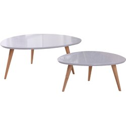 Container Isabella 2 Piece Coffee Table Set Reviews