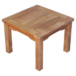 Mission Teak Side Table