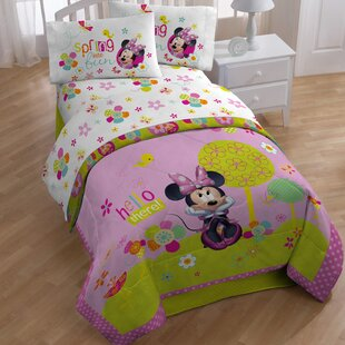 Minnie Bowtique Garden Party Sheet Set