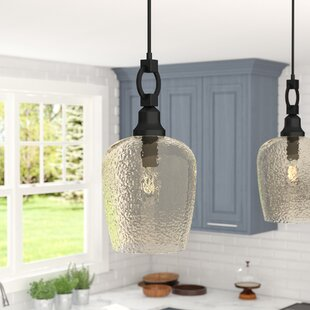 Gracie Oaks Caden 1-Light Cone Pendant