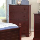 Chauncy 4 Drawer Chest by Harriet Bee