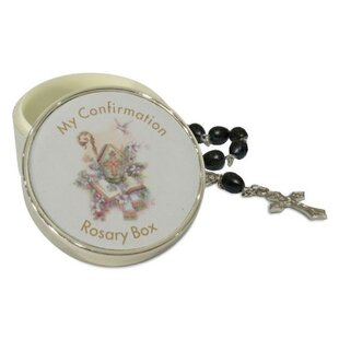 Look for Confirmation Rosary Metal Box By Heim Concept
