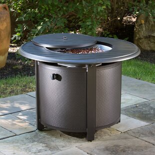 Alfresco Home Bay Ridge Aluminum Propane Fire Pit Table