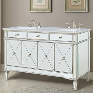 Jiya 60 Double Bathroom Vanity Set by Willa Arlo Interiors